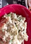 ~サバの味噌煮缶で簡単サラダ~