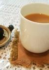 渋皮煮のシロップで~マロン紅茶