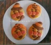 アンパンマンクッキー(ハロウィンver)の写真