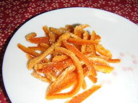 たんかんで作るオレンジピール
