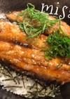 いわしや秋刀魚De蒲焼き丼☆