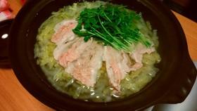 白菜たっぷり♪豚しゃぶ鍋