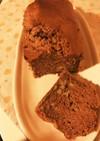 簡単ふわふわパウンドケーキ チョコバナナ