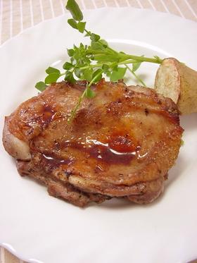 パンに合う鶏肉のオーブン焼き。