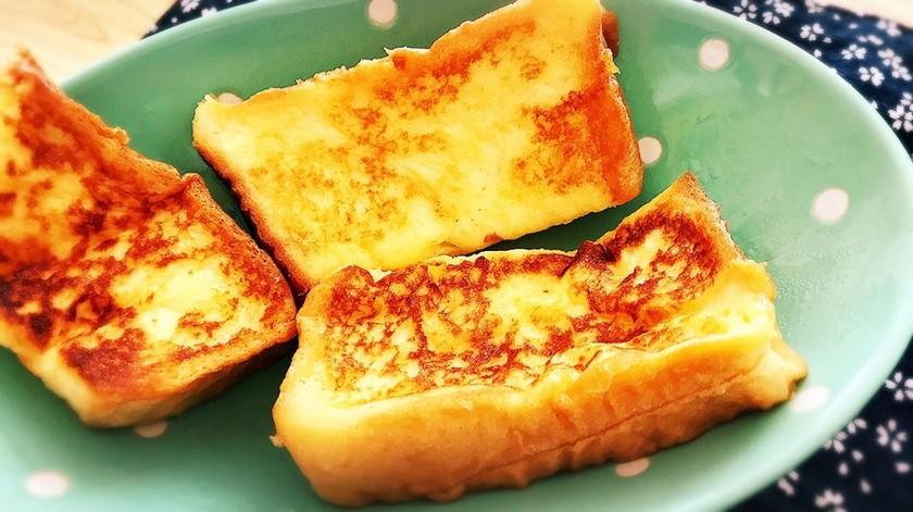 ふわふわ甘いフレンチトースト(冷凍可)