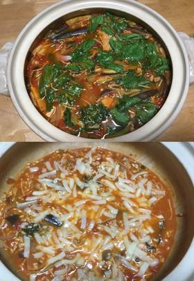 【農業女子】小松菜のトマト鍋&リゾット