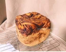 グルテンフリー♪米粉のチョコマーブルパン