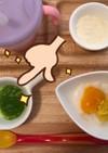 離乳食初期 白菜のペースト