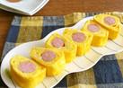 簡単☆ウインナーの卵焼き☆チーズ風味