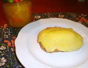マーマレード・チーズトースト