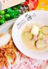 バター香る♪野菜たっぷり洋風味噌スープ♡