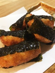 簡単おつまみ★山芋の磯辺揚げの写真