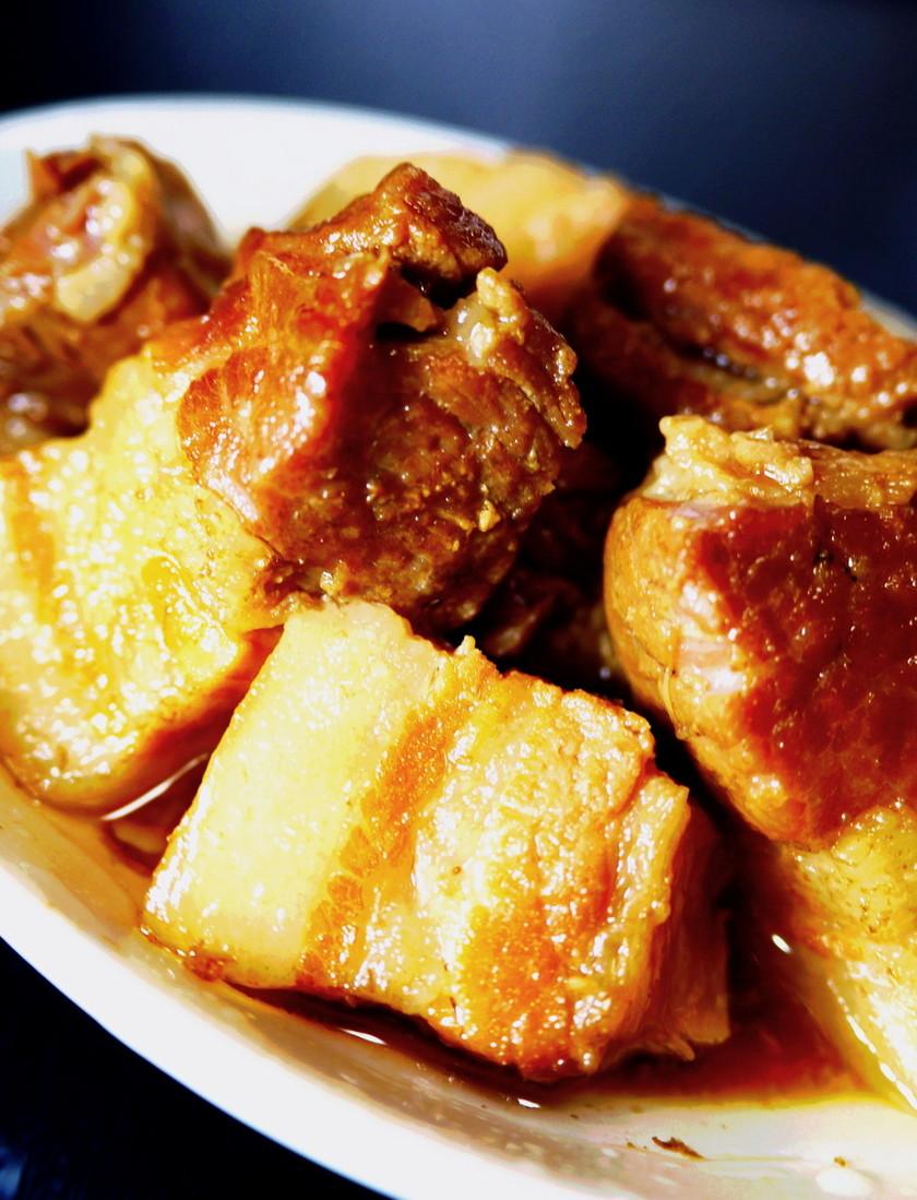 豚の角煮。(電気圧力鍋10分+20分)