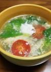 ☆レタスとトマトのかき玉スープ☆