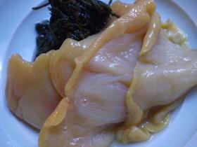 赤貝の酢の物