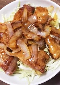 簡単ランチ!豚バラスライスで豚角煮丼!