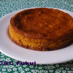 かぼちゃのベークドチーズケーキ