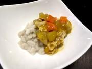 カレーライス風 犬ご飯の写真