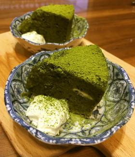 バター生クリーム不使用 濃厚抹茶ショコラ
