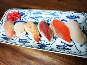 休日に!子供と一緒に!おうちにぎり寿司!