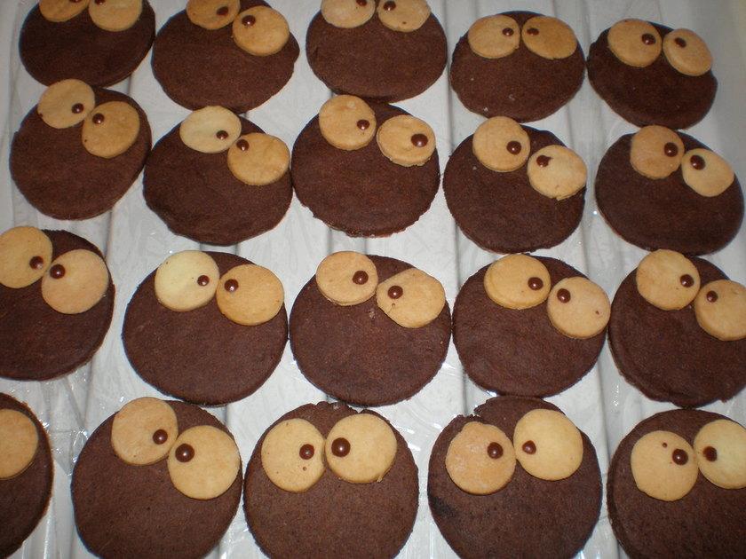 トトロに出てくるまっくろくろすけクッキー