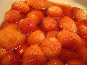 簡単美味しい!イチゴのコンポート