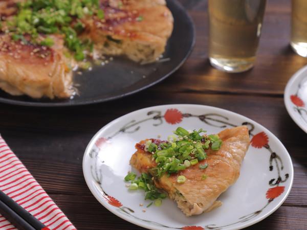えのきと豚肉のキムチーズ焼き☆