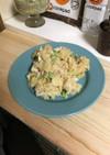 枝豆とツナのカレーポテサラ