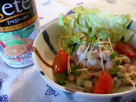 大豆の明太子サラダ