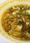 もずくと卵のスープ  ♪大和市学校給食
