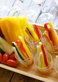 簡単パーティーに◎野菜スティクサラダ❗️