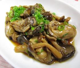 牡蠣の生姜煮
