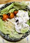もやしとレタスのサラダ(秋バージョン))