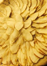 【大麦粉レシピ】大麦粉を使ったリンゴピザ