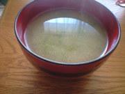 ◇今が旬 生めかぶ◇の味噌汁の写真