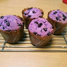 紫いもパウダーマフィン(^.^)