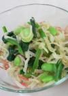切り干し大根と枝豆のサラダ