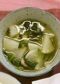 かぶのえび煮(腎臓病食)