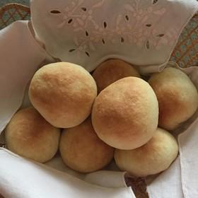 ふわふわ簡単パン