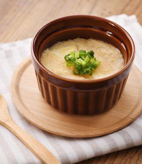 簡単あったか副菜!豆腐のみそとろろ焼き