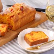 セミドライトマトとチーズのさわやかケーキの写真