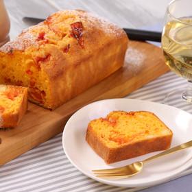 セミドライトマトとチーズのさわやかケーキ