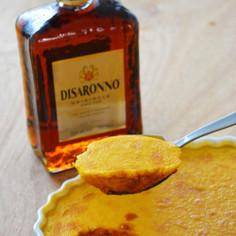 ディサローノ香る大人のかぼちゃプリン