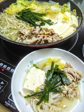 調味料3つ!!体温まる生姜こぶ茶和風豚鍋