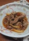 鶏レバーの甘辛生姜煮