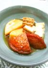▲●長芋と焼き豆腐と油揚げの煮物●▲