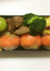 ⑲ サーモンの手まり寿司弁当☆