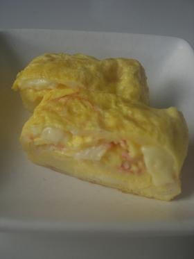 かにかま&チーズの卵焼き♡