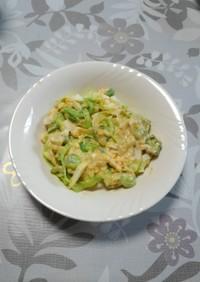 オクラとゆで卵のサラダ