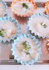 お弁当に!えびグラタンの手作り冷凍食品